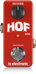 TC Electronic Hall Of Fame Mini Reverb Efekt gitarowy