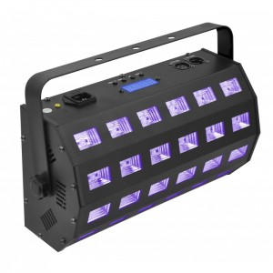 Light4me UV 24 + Strobe DMX Stroboskop Efekt LED