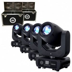 Light4me Venom Spot 150W LED SET2 Zestaw