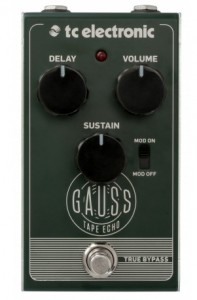 TC Electronic Gauss Tape Echo Efekt gitarowy